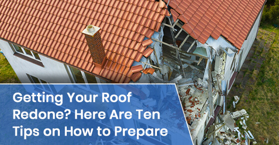 How to prepare for a roofing replacement?