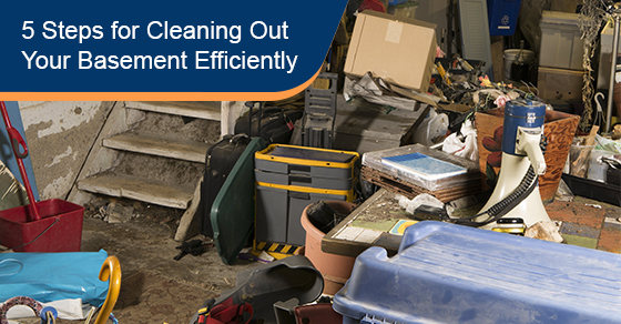 5 Steps for Cleaning Out Your Basement Efficiently