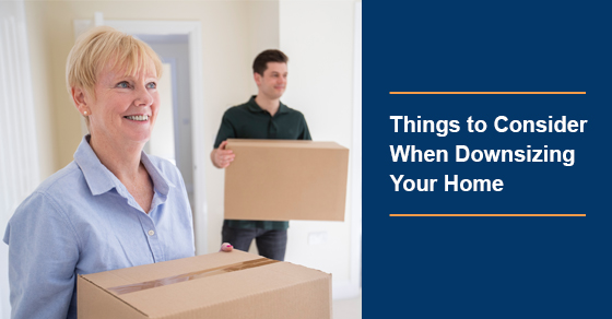 What to consider when downsizing your house?